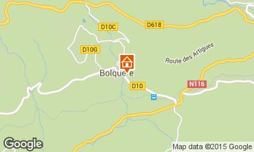 Karte Bolquère Pyrenées 2000 Appartement 67250