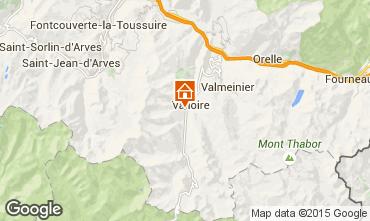 Karte Valloire Chalet 23134