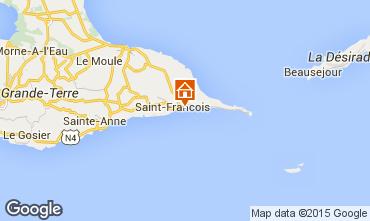 Karte Saint Francois Bungalow 8957