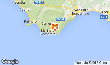 Karte Marina di Camerota Appartement 59365