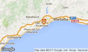 Karte Marbella Appartement 100767