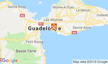 Karte Gosier (Guadeloupe) Appartement 117735