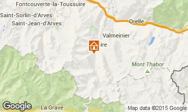 Karte Valloire Appartement 3412