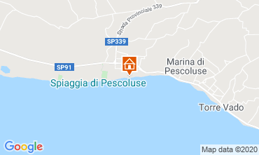 Karte Pescoluse Haus 105714