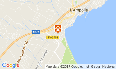 Karte L'Ampolla Chalet 112776