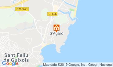 Karte S'Agaró Appartement 118840