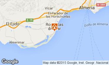 Karte Roquetas de Mar Appartement 49476