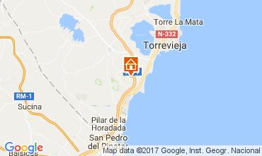 Karte Torrevieja Appartement 110647