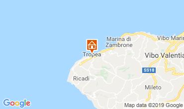 Karte Tropea Appartement 114211