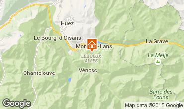 Karte Les 2 Alpes Appartement 87190