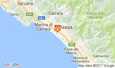 Karte Marina di Massa Appartement 72642