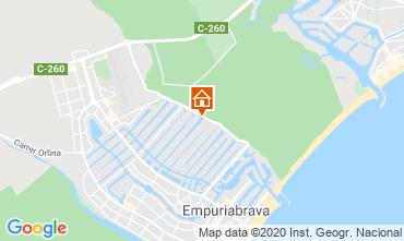 Karte Empuriabrava Villa 97067