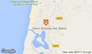 Karte Vieux Boucau Appartement 54490