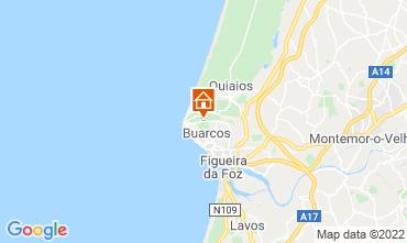 Karte Figueira da Foz Fremdenzimmer 11824