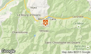 Karte Les 2 Alpes Appartement 91727