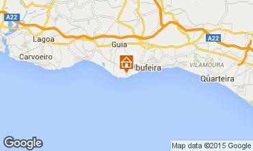 Karte Albufeira Appartement 96562