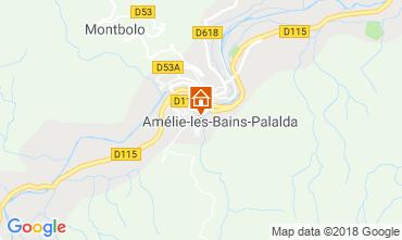 Karte Amélie-Les-Bains Appartement 105866