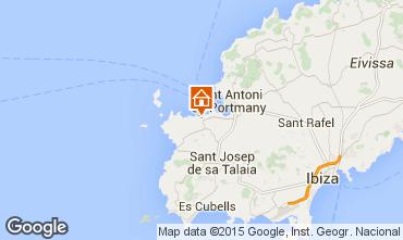 Karte Ibiza Appartement 99431