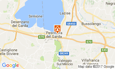 Karte Peschiera del Garda Appartement 70850