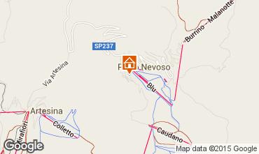 Karte Prato Nevoso Appartement 81220