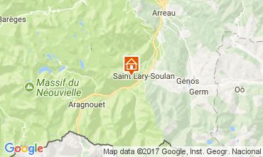 Karte Saint Lary Soulan Appartement 112253