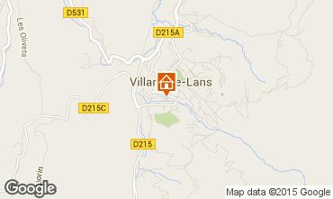 Karte Villard de Lans - Corrençon en Vercors Appartement 3704