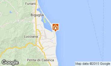 Karte Lucciana Villa 100799