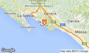 Karte Lerici Appartement 55968