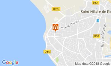 Karte Saint Hilaire de Riez Appartement 113968