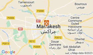 Karte Marrakesch Haus 32686