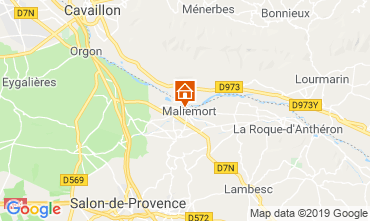 Karte Aix en Provence Haus 91300
