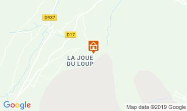 Karte Superdévoluy- La Joue du Loup Appartement 112558