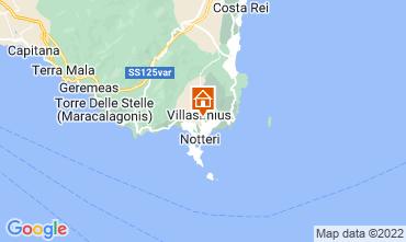 Karte Villasimius Appartement 61164