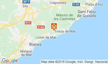 Karte Lloret de Mar Villa 117948