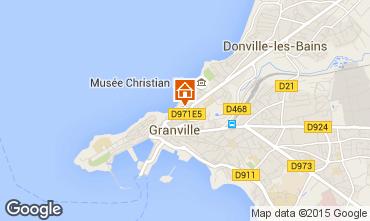 Karte Granville Appartement 45926