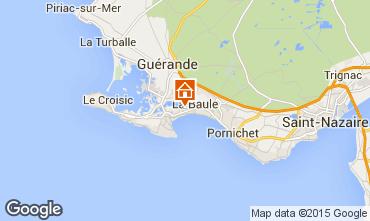Karte La Baule Appartement 64832