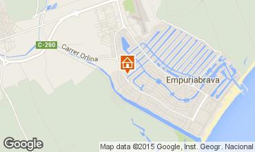Karte Empuriabrava Villa 51978