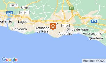 Karte Albufeira Villa 106497