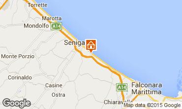 Karte Senigallia Appartement 63340