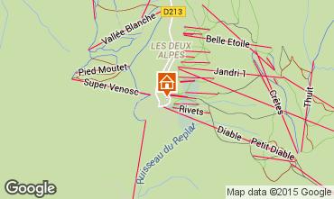 Karte Les 2 Alpes Appartement 49459