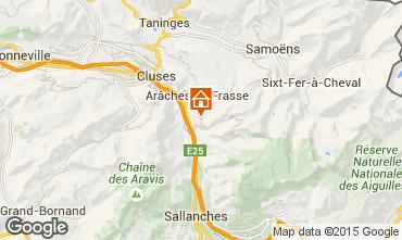 Karte Les Carroz d'Araches Chalet 90862