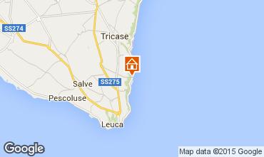 Karte Santa Maria di Leuca Appartement 51532