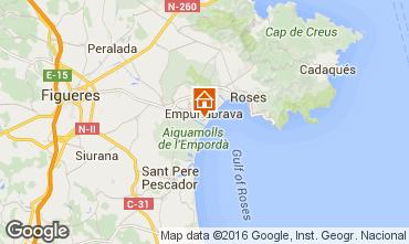 Karte Empuriabrava Appartement 77084