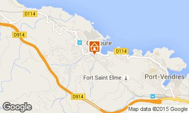 Karte Collioure Appartement 96764