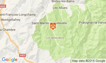 Karte Les Menuires Chalet 91424
