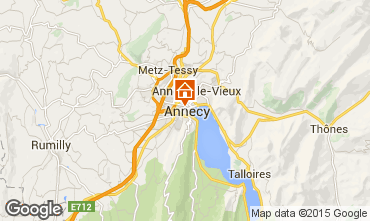 Karte Annecy Appartement 30857
