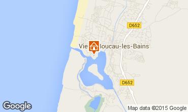 Karte Vieux Boucau Appartement 10066