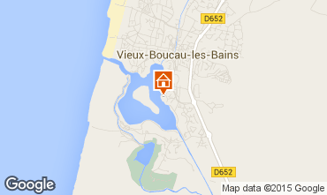 Karte Vieux Boucau Appartement 79430
