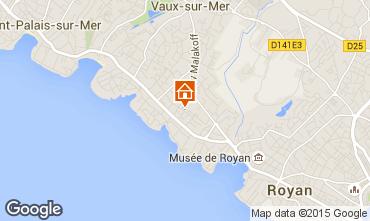 Karte Vaux sur Mer Villa 101709
