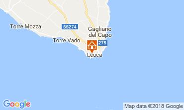 Karte Santa Maria di Leuca Appartement 114748